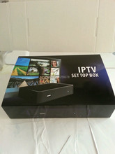 hot sale linux system  iptv set top box mag250 of all over the world without server account