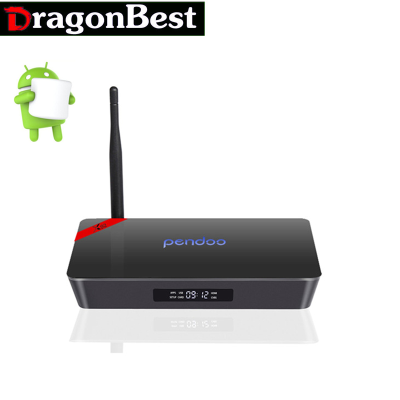 ФОТО Android Tv Box Android 6.0 Amlogic S912 Octa Core  3 16GB BT 4.0 2.4/5.8G Wifi 1000M 4K Set Top Box Pendoo 10PCS X92