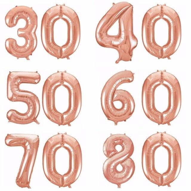 Aliexpress Buy Happy 30th 40th 50th 60th 70th 80th Birthday