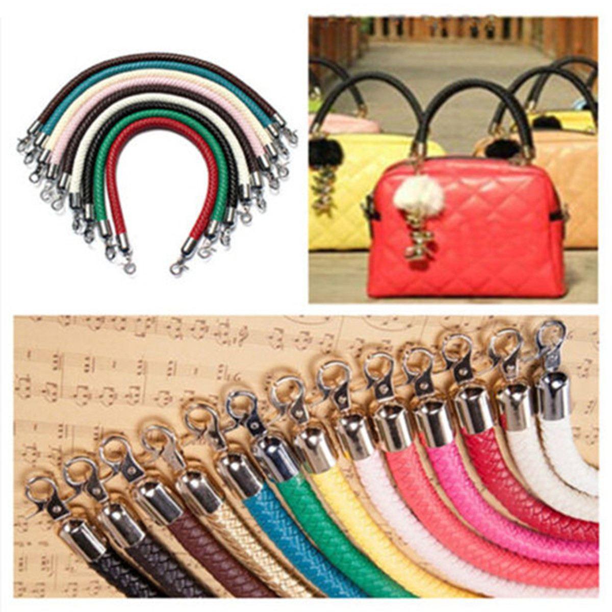 AEQUEEN 53.4CM DIY Bag Strap Handle Detachable Replacement Belts Bag Handle Bands Handbag Strap Bag Accessories Parts Silver