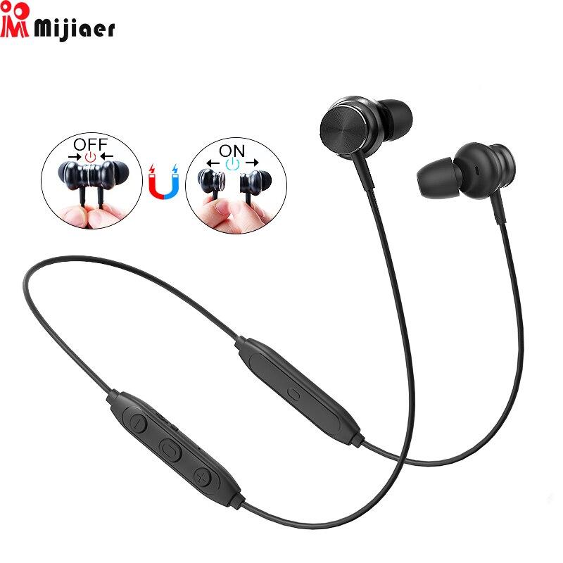L33 Drahtlose Kopfhörer auriculares Bluetooth Kopfhörer 5,0 Magnetische Schalter Sport In-Ear Ohrhörer mit Mic für Xiaomi audifonos