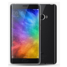 2pcs For 5.7 Xiaomi Mi Note 2 Note2 Dual 3D Curved Glass Snapdragon 821 Case Cover UltrathinSoft TPU Clear Protective Cover