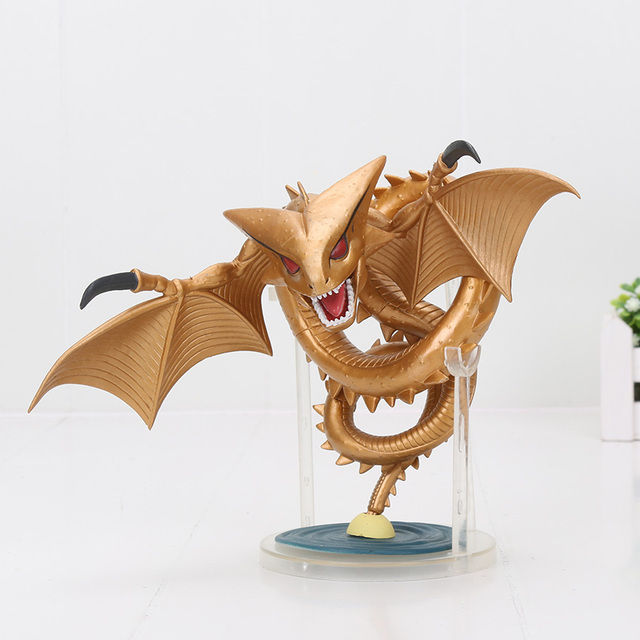 Us 11 7 15 Off 15cm Dragon Ball Super Super Shenron Figure Mega World Collectable Figure Toy Golden Dragon Kaminoryu Dragon Ball Z In Action Toy