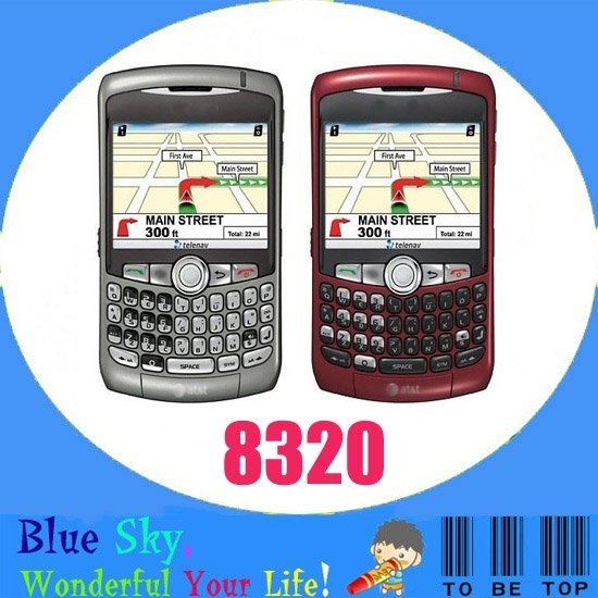Swiss post free shipping Refurbished Quad band phones WiFi blackberry 8320