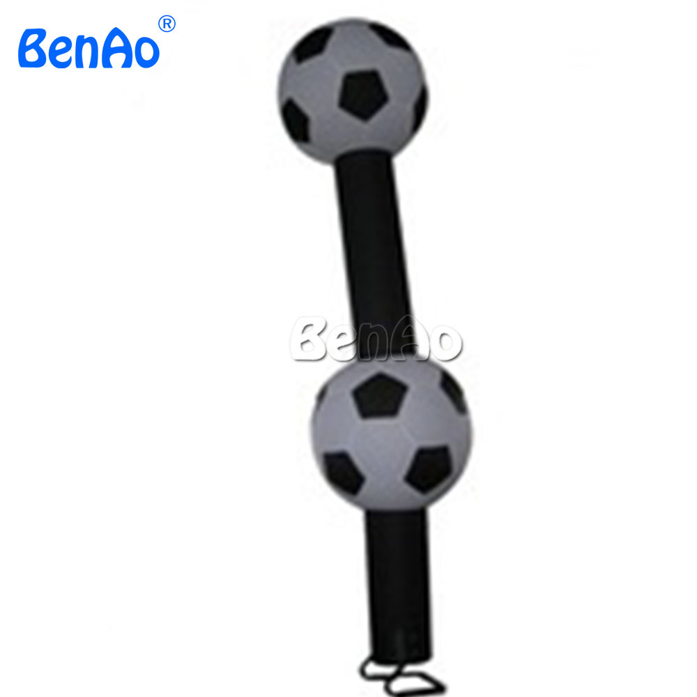 AD077 BENAO Inflatable football player air dancer, inflatable soccer sky dancer, wind dancer for promotion 6m 20ft 2 legs inflatable air dancer sky dancer for advertising free shipping 2pcs 950w blower with light