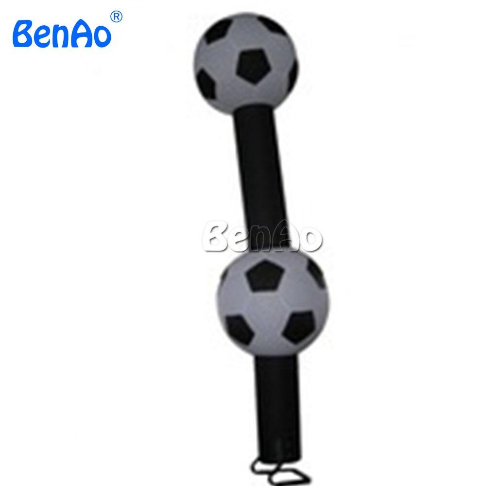 AD077 BENAO danseur gonflable d'air de joueur de football, danseur gonflable de ciel de football, danseur de vent pour la promotion