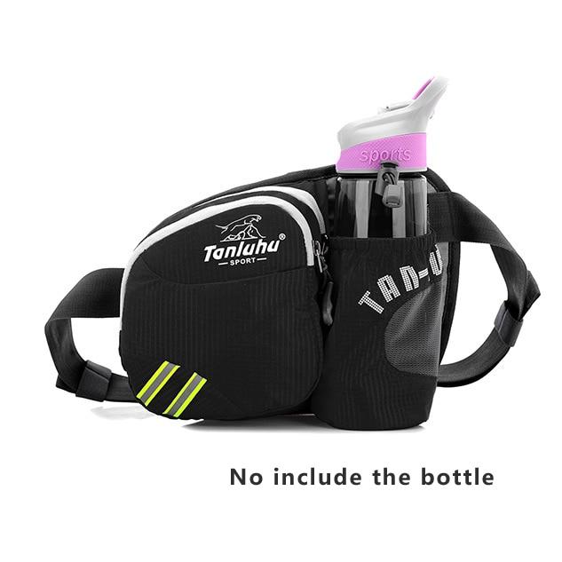 Sports Bottle Phone Case: Running Bags Waterproof Running Waist Bag Sport Water