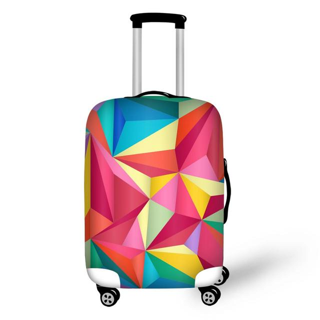 Personalized Luggage Protector Cover Clear Suitcases Covers Waterproof Accessory Bags Travel Trolley Case