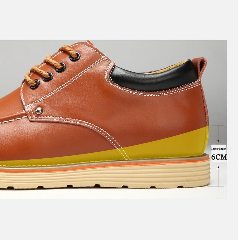 Brown Brown Hommes Option light D'hiver Black Et Chaud Caché Microfibre Cuir dark Chaussures Valstone Sneakers Qualité Ascenseur Velours En Automne Casual UwqRyZd