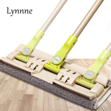 Lynnne Multi-Connector Mop 360 Degree Rotated Mop Microfiber Dust Cloth Cleaning Windows Ceiling Home Clean Wood Floor Spray(China)