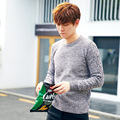 Mens Knitted pullovers Man Autumn Winter New Fashion O neck Jacquard Knitwear Knitted Sweater Slim Jumper Teenager