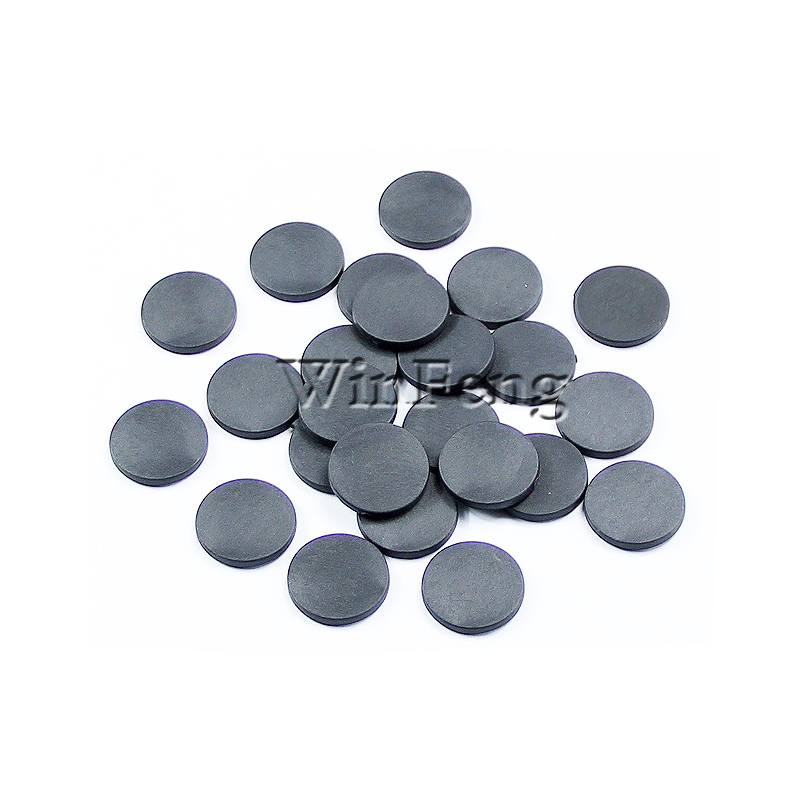 100Pcs/Lot Resist High Temperature Dia 24mm Waterproof 13.56MHZ RFID PPS Disc Coin Tag for Laundry Management100Pcs/Lot Resist High Temperature Dia 24mm Waterproof 13.56MHZ RFID PPS Disc Coin Tag for Laundry Management