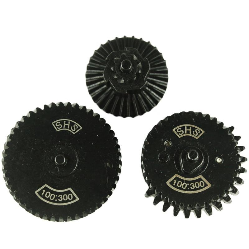SHS 100: 300 reinforcement super high torque Gear Set for AEG gearbox ver 2/3 hunting accessories-free shipping беспроводной rfid модуль shs ast200 пульт shs darcx01 для управления дверным замком только для врезных замков