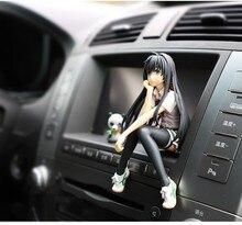Japan Style Car Ornaments Lovely Beautiful Girls Car Interior Control Home Desk Decoration Figurines & Miniatures Cartoon Girl