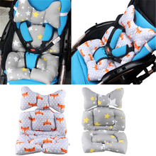 BBSONG мультяшный автомобильный коврик для сиденья, детская коляска, подушка для коляски, детская мягкая тележка, матрас, сиденье для малыша, коврик, аксессуары для колясок