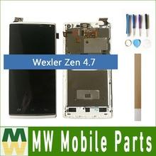 ЖК-дисплей 4,7 дюйма для Wexler Zen 4,7 с рамкой с инструментами и лентой