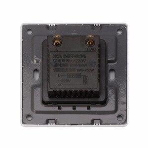 Image 3 - 調整天井ファン速度制御スイッチ壁ボタン調光器スイッチ 220 V 10A