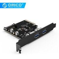ORICO PA31-2P Desktop 2 Порты и разъёмы USB3.1 PCI-E адаптер Express Card sup Порты и разъёмы Hot Plug-черный