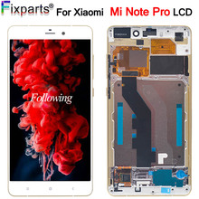 For Xiaomi Mi Note LCD Display With Touch Screen Digitizer Assembly For Xiaomi Mi Note Pro LCD Replacement Parts цена в Москве и Питере