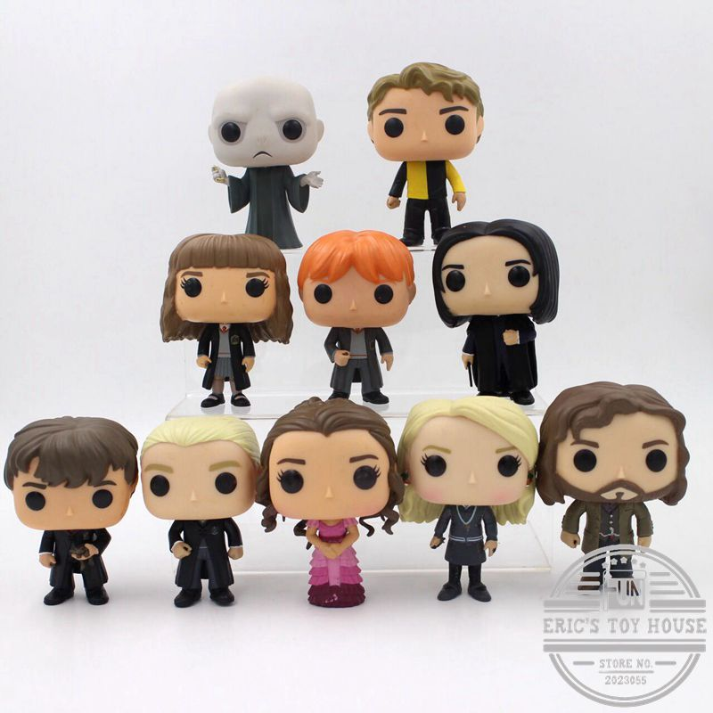 Funko POP Seconds Harry Potter Snape, Rubeus, Luna, Dobby, Draco Malfoy, Cedric, Sirius, Neville, Hermione Loose Figure Toy the harry potter dobby hermione dumbledore action figure toys for kids christmas gifts