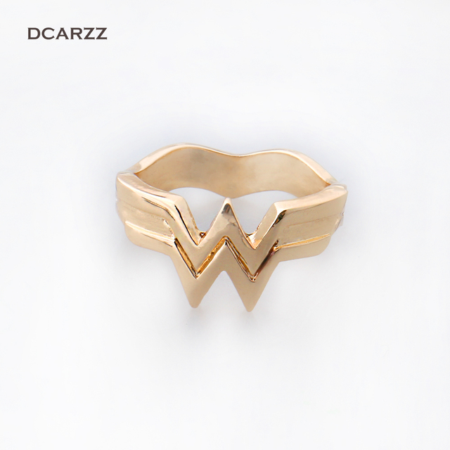 wonder woman wedding ring size 5 9 stacking ring 3d 1477