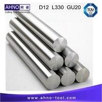 D12.0mm + 0.3 ~ 0.6mm; L = 330; GU20; 1 pc; unground Hastes de Carboneto de Tungstênio Sólido Bar Sem furos de refrigeração|carbide bar|solid carbidetungsten carbide bars -