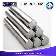 D12.0mm + 0.3 ~ 0.6mm; L = 330; GU20; 1 PC; Non Broyée Tiges De Tungstène Solide carbure Bar Sans trous de refroidissement LIVRAISON gratuite
