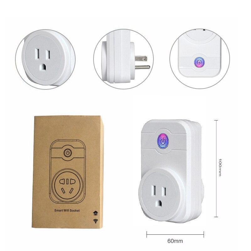 Smart Wifi Socket Plug Adapter Wireless Smart Home Automation ...