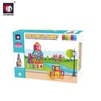 BD Developmental magnet block toys for kids games Plastic interlocking STEM toy for kids