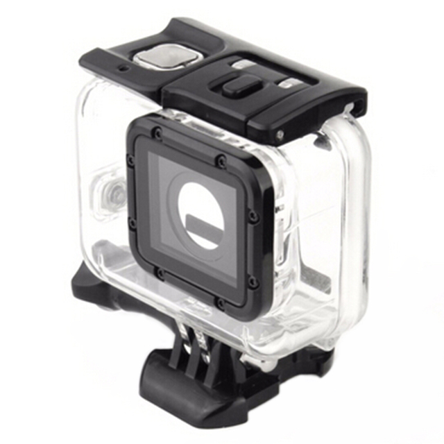 New Arrive GoPro Hero 5 Waterproof Case 45M Diving Camcorder Housing Case For Go Pro Hero 5 Action Camera Accessories