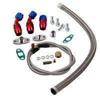 Universal Turbo Oil Line Kits Feed Line & Return Line kits T3 T4 GT35 T70 T66