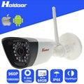 Wi-fi 960 P HD 6 мм Объектив IP P2P Камеры Безопасности Micro SD Слот Для карт Памяти Запись Видео email alert motion detection alarm водонепроницаемый IP65