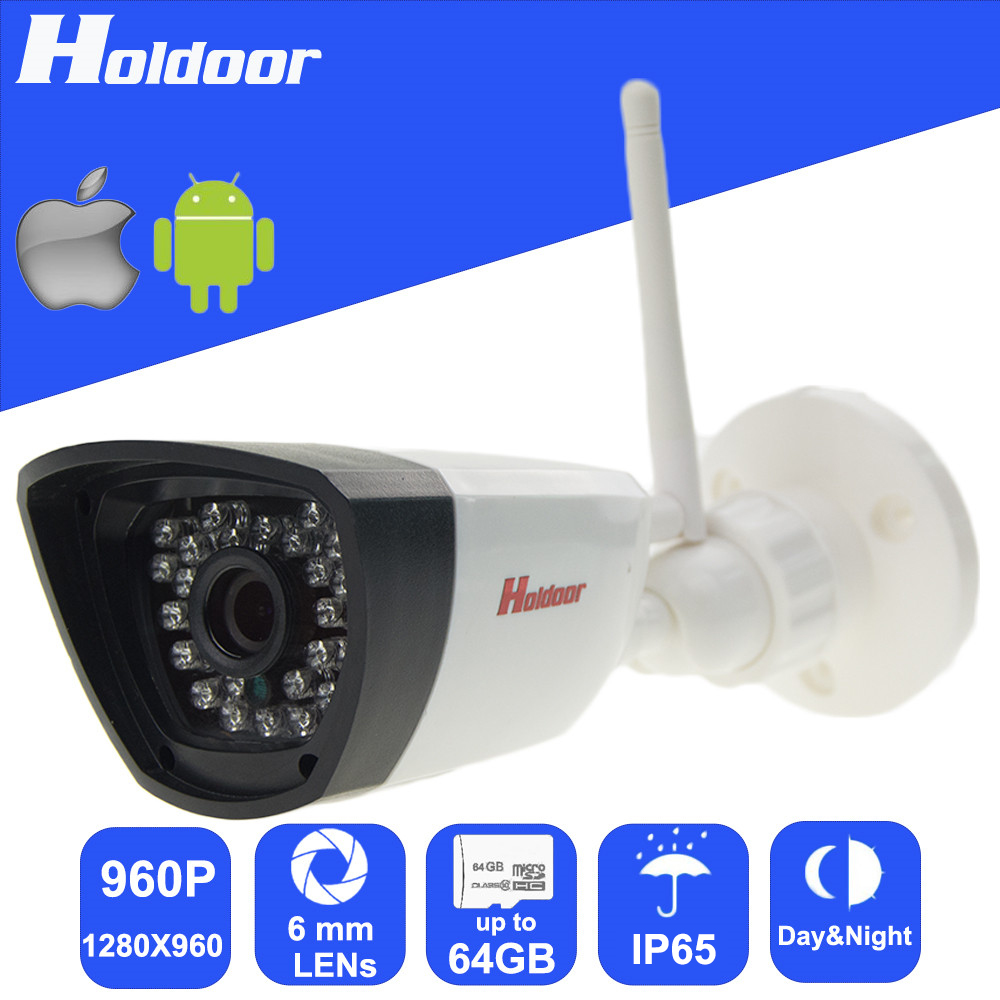 WiFi 960P HD 6mm Lens IP P2P Security Camera Micro SD Card Slot Video Record email alert motion detection alarm waterproof IP65 wifi 960p 6 0mm lens ip p2p security camera micro sd card slot video record email alert motion detection alarm waterproof ip65