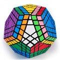 Alta calidad Mf8 Gigaminx cubo mágico, 12 superficie, 7 capa, etiqueta negro cuadrado mágico smooth speed Cube presente para los niños L-50