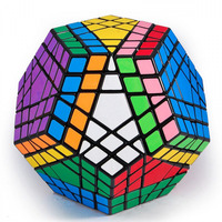 Hoge Kwaliteit Gigaminx Cube, 12 Oppervlak, 5 Layer Puzzel, sticker black magic vierkante glad speed cube voor Kinderen aanwezig L-50
