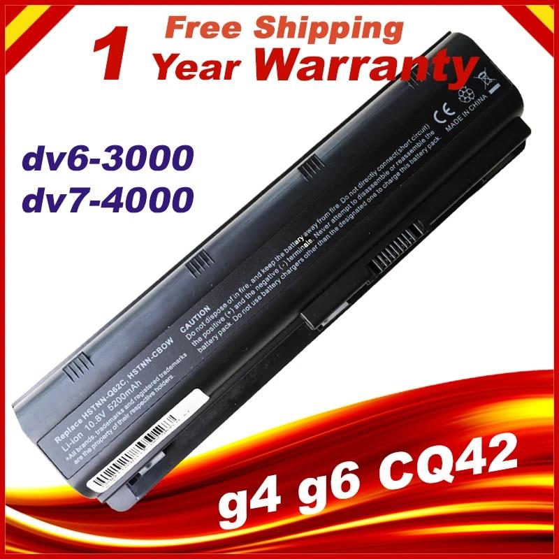gaixample.org DTK Laptop Battery for HP G6 Mu06 Mu09 Pavilion Dm4 ...