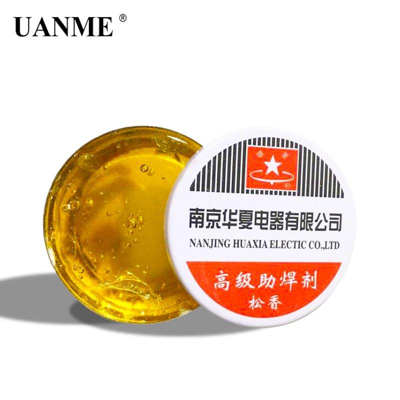 Купить с кэшбэком UANME 50g Box Rosin For Electric Soldering Iron Soft Solder Welding Fluxes Scaling Powder