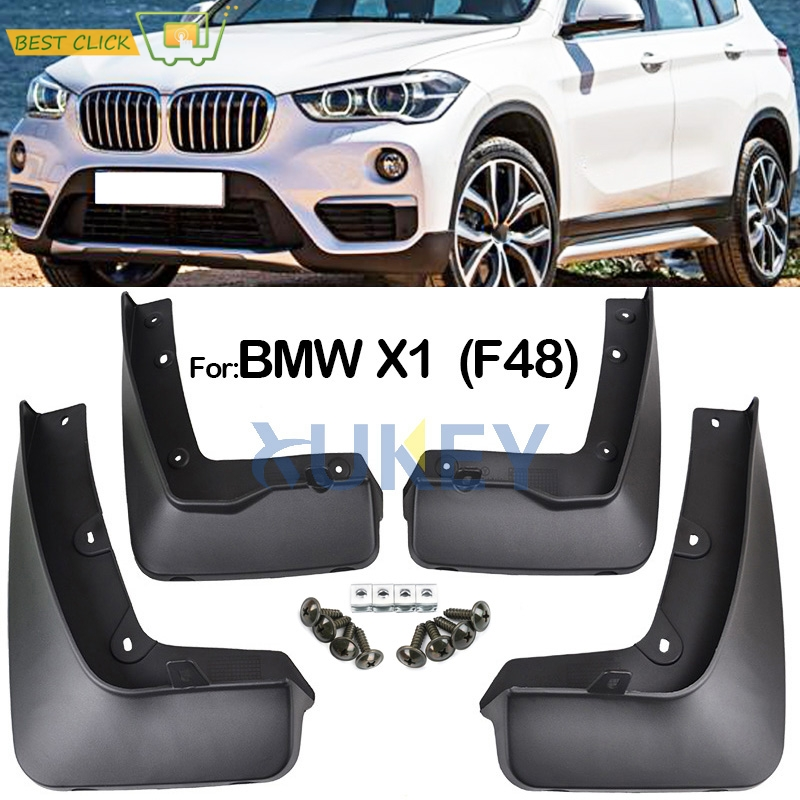 A-Premium Splash Guards Mud Flaps Mudflaps for BMW E84/X1 2011-2015 Front and Rear 4-PC Set