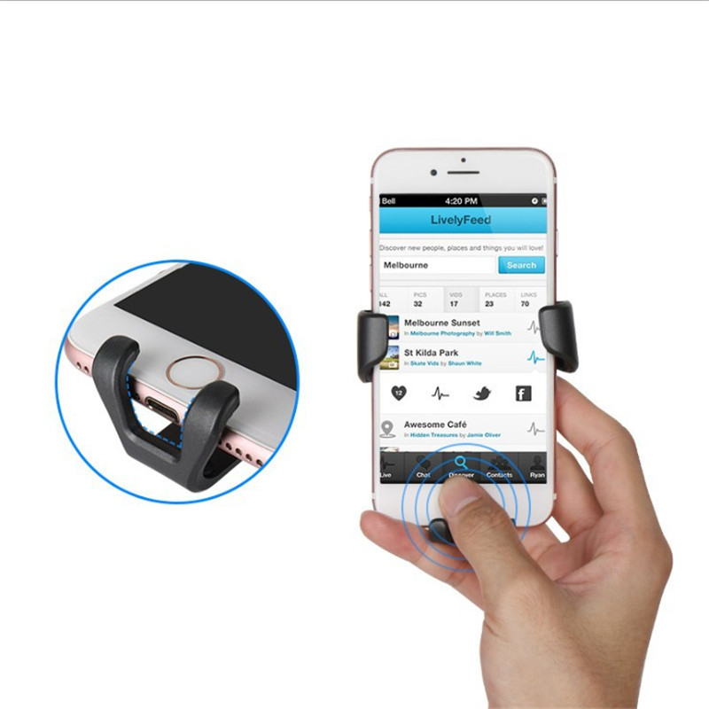 SARA NELL Universal Car Phone Holder For iPhone Samsung S9 Plus Huawei Car Holder Air Vent Mount Metal Gravity Phone Holder in Phone Holders Stands from Cellphones Telecommunications
