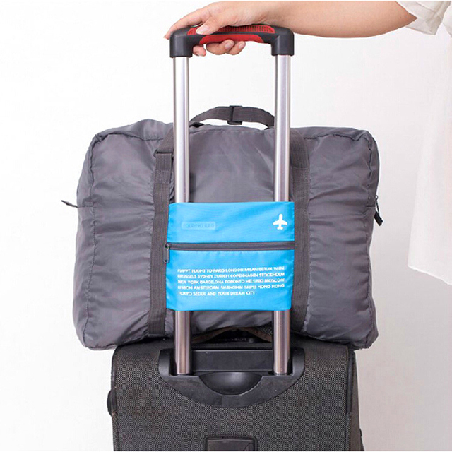 2017 JULY'S SONG New Fashion Polyester Waterproof Foldable High Capacity Portable For Women M
