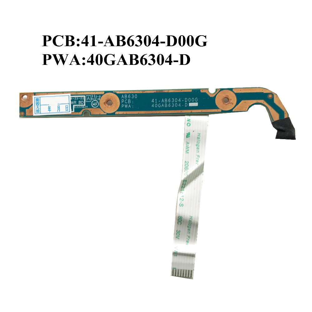 Excellent Original 15.6for Hp Pavilion Dv6-6000 Power Switch Button Board 41-ab6304-d00g 40gab6304-d Free Shipping Computer & Office