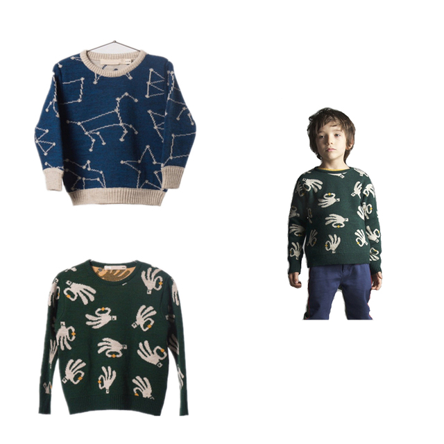 Boys&Girls Knitted Soft Sweaters Toddlers Girls Bobozone Sweaters
