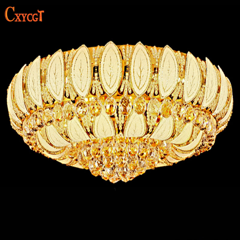 Manufactory New Arrival K9 Crystal Chandelier Pendant Lamp Luxury Crystal Ceiling Light Fixture Lusters in Stock free ship
