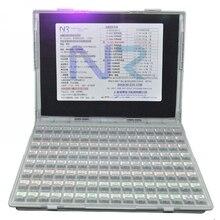 27,6x21,5x4,2 см резистор SMT конденсатор Электронный ящик для хранения и органайзеры компонентный ящик для хранения 128 сетчатые компоненты