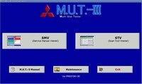 עבור מיצובישי M.U.T.-III מראש 20011-00 [01.2020] אבחון תוכנה