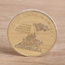 Памятная монета Нормандия войны коллекция подарки сувенир Ремесло Искусство Биткоин BTC