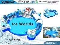 Надувные водные игрового оборудования, надувные водные игры YLW WP011