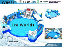 inflatable water play equipment,inflatable water games YLW WP011