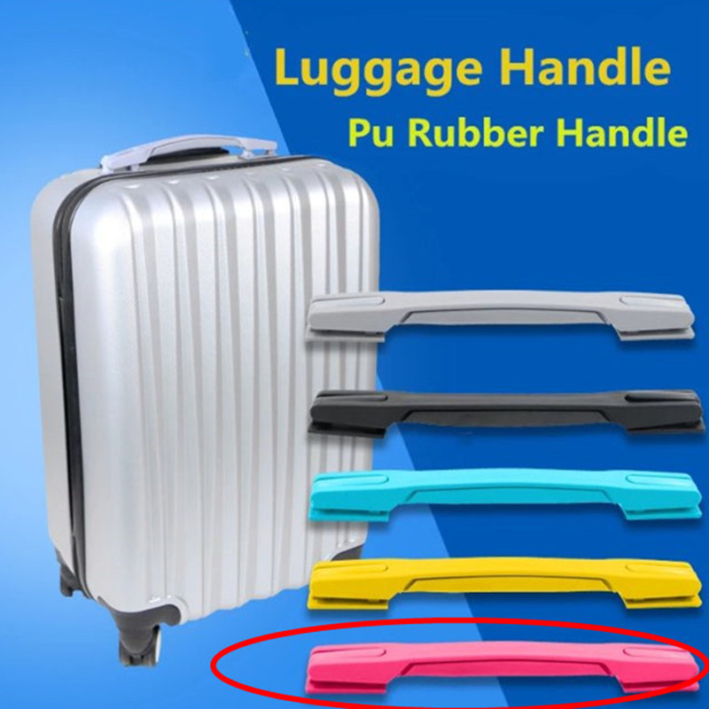 Replacement Rose Color Handle/Suitcase Handle Telescopic Luggage parts Handles plastic Accessory Repair Luggage Handles RB-016#