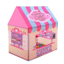 YOOAP  Kid Tents Playhouse for Boys Girls Play Castle Indoor Outdoor Ideal for Birthday Gift   play castle tent недорого